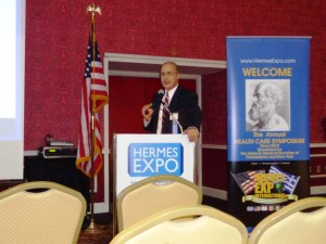 Keynote Speaker Dr Charles Yeo of Jefferson discussed health care reform.