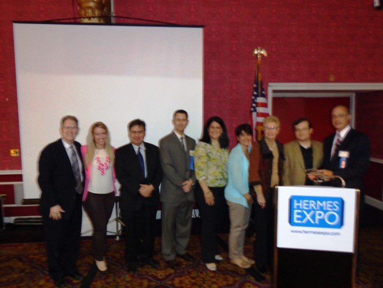 The Speakers and HMS Board members of the 2013 HMS community health symposium