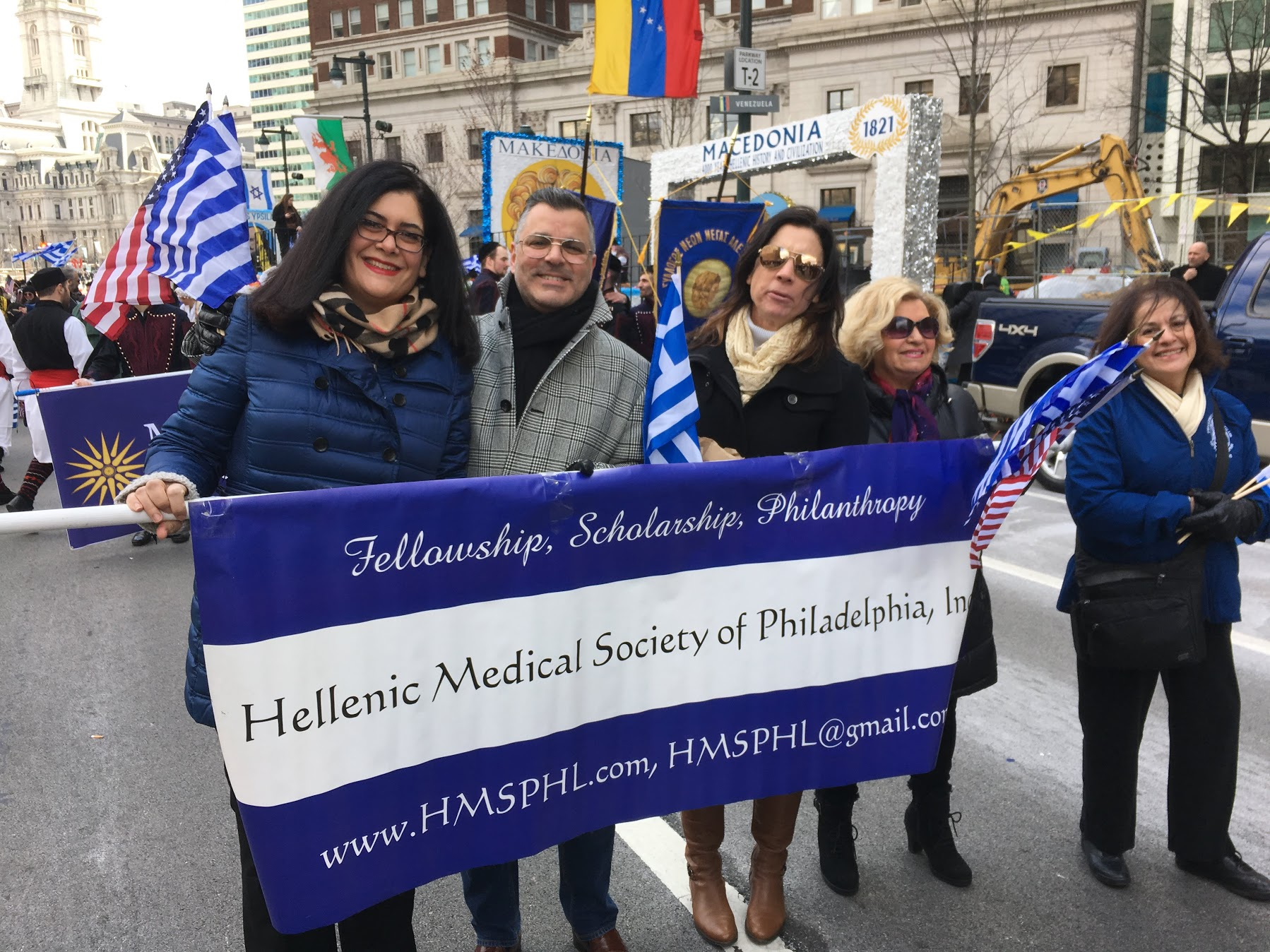 Greek Independence Day Parade, Sunday April 7th on JFK Parkway